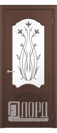 Дверь Валенсия ПО Черный орех