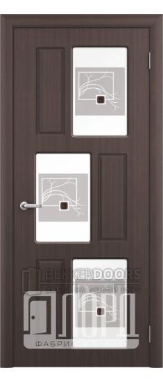 Дверь Гамма ПО  Венге шелк
