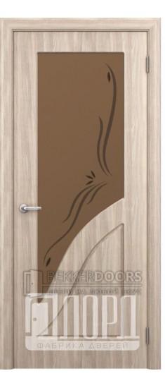 Дверь Жасмин ПО Дуб рифленный