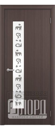 Дверь М8 ПО Венге шелк