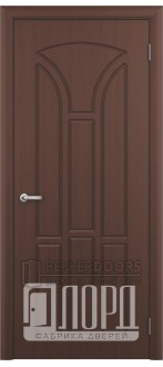 Дверь Лотос 1 ПГ Черный орех