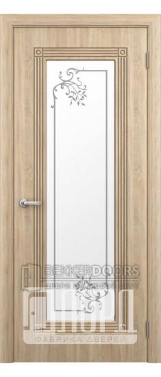 Дверь ПР-35 ПО Дуб рифленный