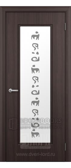 Дверь Сафари  ПО Венге шелк