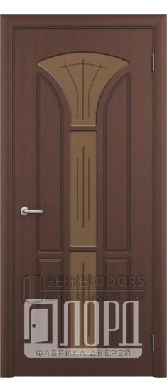 Дверь Лотос 3 ПО Черный орех