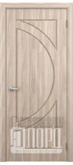 Дверь Сфера (полукруг)  ПГ Дуб рифленный