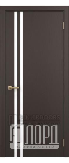 Дверь Альфа 2 ПО Венге