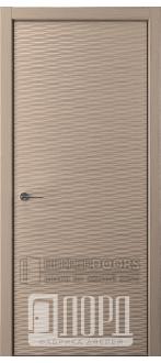 Дверь Альфа D2 ПГ Холст серый
