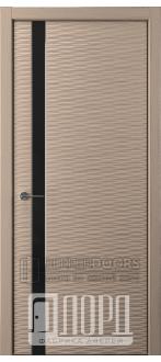 Дверь Альфа D3 ПО Холст серый