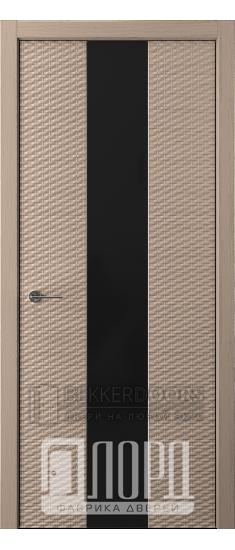 Дверь Альфа D4 ПО Холст серый