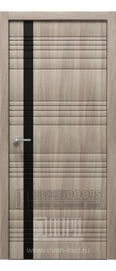 Дверь Альфа Z1 ПО Холст серый