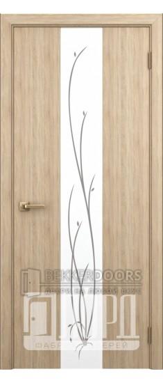 Дверь Верба ПО Дуб рифленный