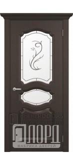 Дверь Виктория ДО Черное дерево