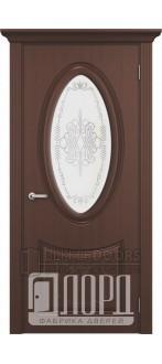 Дверь Корона ДО Орех седой темный