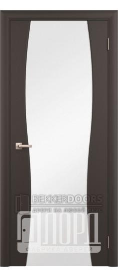 Дверь Сириус 3 ДО Венге Шелк