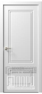 Дверь  Ренессанс 1 ДГ Эмаль белая