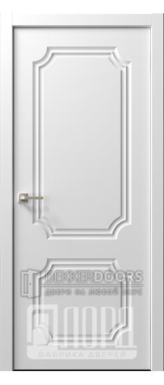 Дверь  Ренессанс 2 ДГ Эмаль белая
