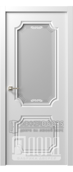 Дверь  Ренессанс 2 ДО Джулио Эмаль белая
