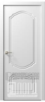Дверь  Ренессанс 3 ДГ Эмаль белая