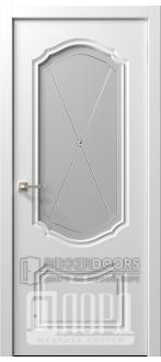 Дверь  Ренессанс 3 ДО ДонатоЭмаль белая