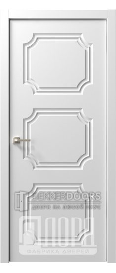 Дверь  Ренессанс 4 ДГ Эмаль белая