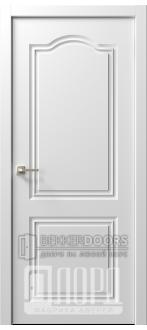 Дверь  Ренессанс 6 ДГ Эмаль белая
