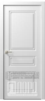 Дверь  Ренессанс 7 ДГ Эмаль белая