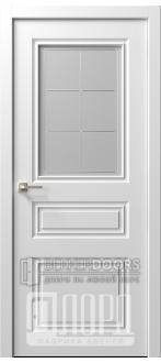 Дверь  Ренессанс 7 ДО Леон Эмаль белая