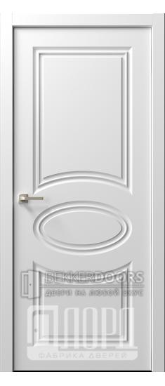 Дверь  Ренессанс 8 ДГ Эмаль белая