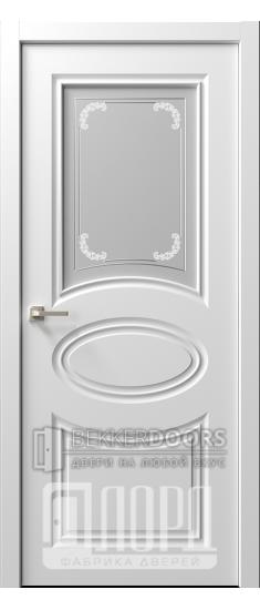 Дверь  Ренессанс 8 ДО Джованни Эмаль белая