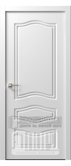 Дверь  Ренессанс 9 ДГ Эмаль белая