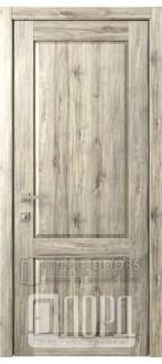 Дверь Кантри 1 ДГ Дуб санремо темный