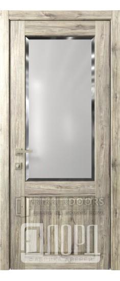 Дверь Кантри 2 ДО Дуб санремо темный Фацет