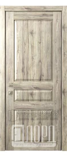 Дверь Кантри 3 ДГ Дуб санремо темный