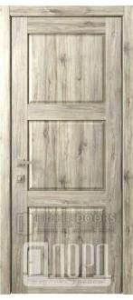 Дверь Кантри 5 ДГ Дуб санремо темный