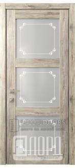 Дверь Кантри 6 ДО Дуб санремо темный Грация