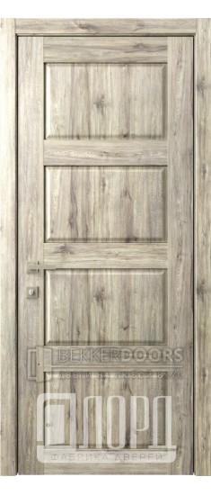 Дверь Кантри 7 ДГ Дуб санремо темный