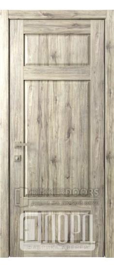 Дверь Кантри 9 ДГ Дуб санремо темный