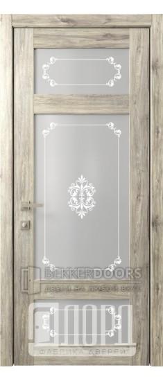 Дверь Кантри 10 ДО Дуб санремо темный Грация