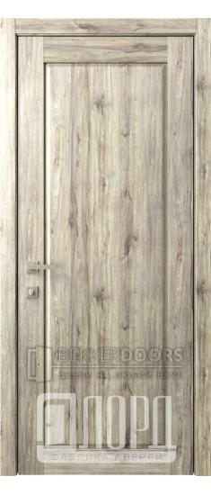 Дверь Кантри 11 ДГ Дуб санремо темный