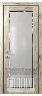 Дверь Кантри 12 ДО Дуб санремо темный Фацет