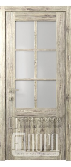 Дверь Кантри 13 ДО Дуб санремо темный