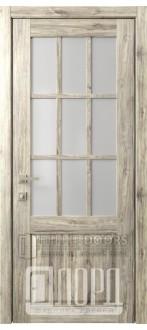 Дверь Кантри 14 ДО Дуб санремо темный