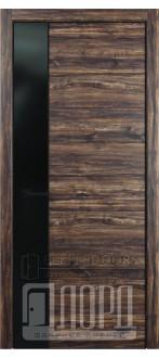 Дверь Melford-3 ПО Бомонд вековой (с чёрным молдингом)