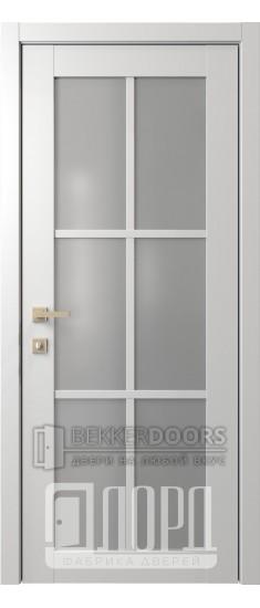 Дверь Элегант 1 ДО Белая