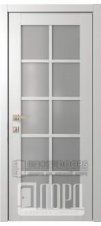 Дверь Элегант 3 ДО Белая