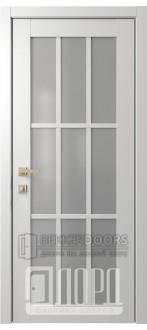 Дверь Элегант 4 ДО Белая