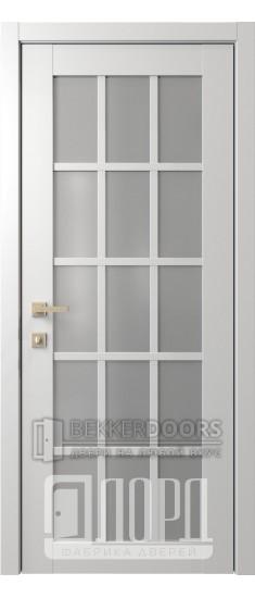 Дверь Элегант 6 ДО Белая
