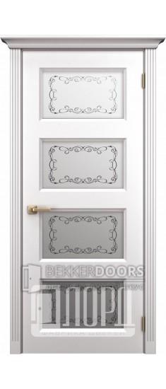 Дверь К-3 ПО Белый снег