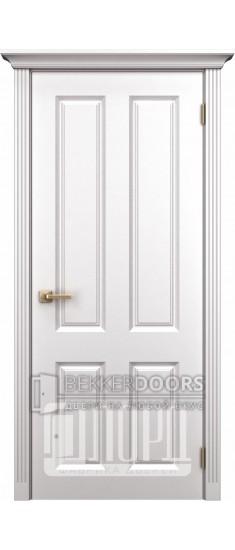 Дверь К-4 ПГ Белый снег