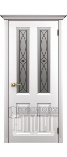 Дверь К-4 ПО Белый снег